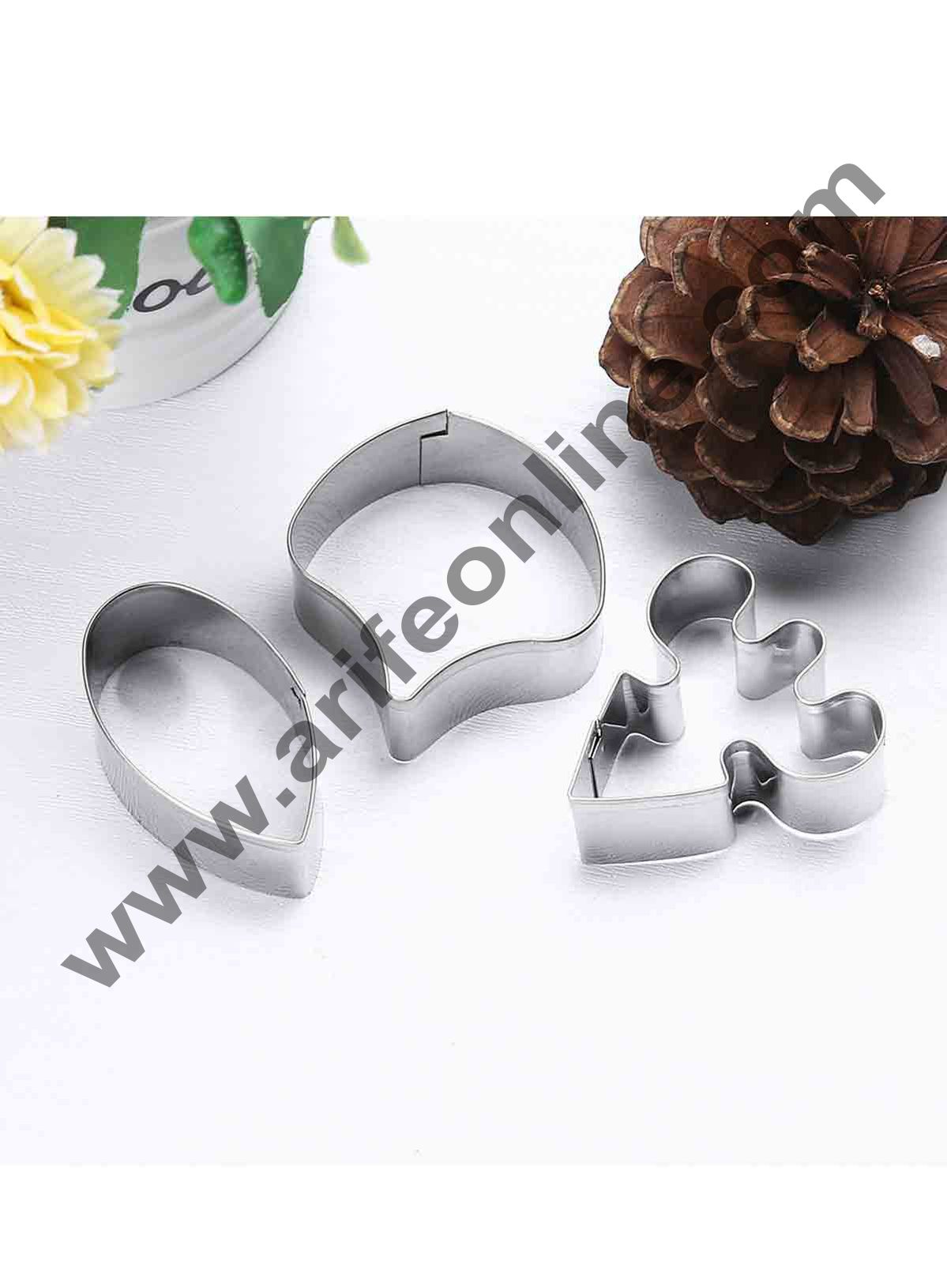 Cake Decor 3 Pcs Butterfly Orchid Petals Cutter Bakeware Mould Biscuit Mould Set Sugar Arts Fondant Cake Decoration Tools