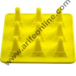 Cake Decor 9 in 1 Silicon Bakeware Eifil Toer Shape Ice Mould Cupcake Moulds Muffin Mould Chocolate Mould