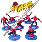 Cake Decor Ultimate Spider man CAKE TOPPER Superhero 7 Figure Set Birthday Party Cupcakes Figurines Marvel Comics 1