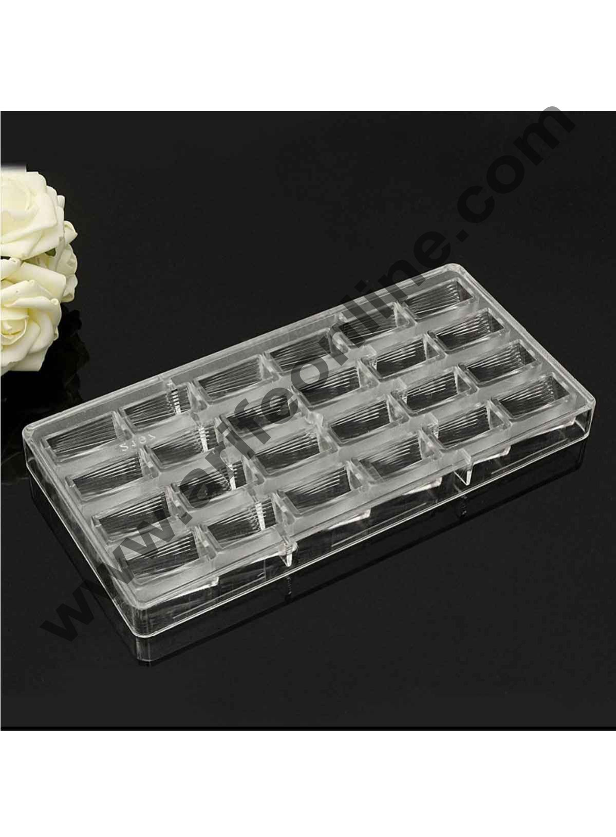 Cake Decor New 24 Cavity Special Polycarbonate Chocolate Mold Hard Plastic Chocolate Mold