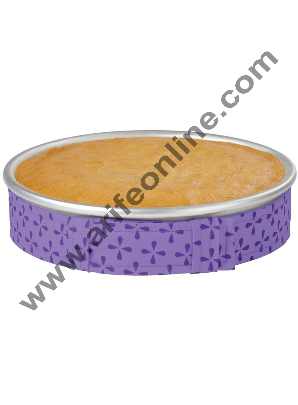 Cake Decor 1Pc Cake Pan Strips Protector Bake Even Strip Belt Bake Even Bake Moist Level Cakes Baking Tool Bakeware