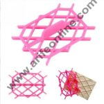 Cake Decor Newest Fondant Cake Tools Equipment Embossing Icing Quilt Molds Mould Cake Decorating Tools 2