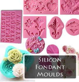 Silicon Fondant Moulds