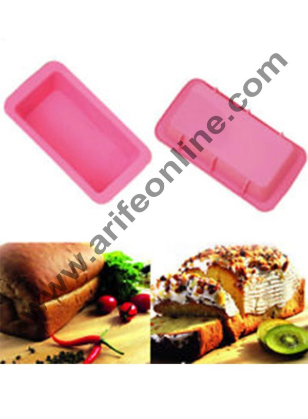 ffda9c929 Cake Decor Silicone-Non-Stick-Bread-Loaf-Cake-Mold-Bakeware-Baking ...