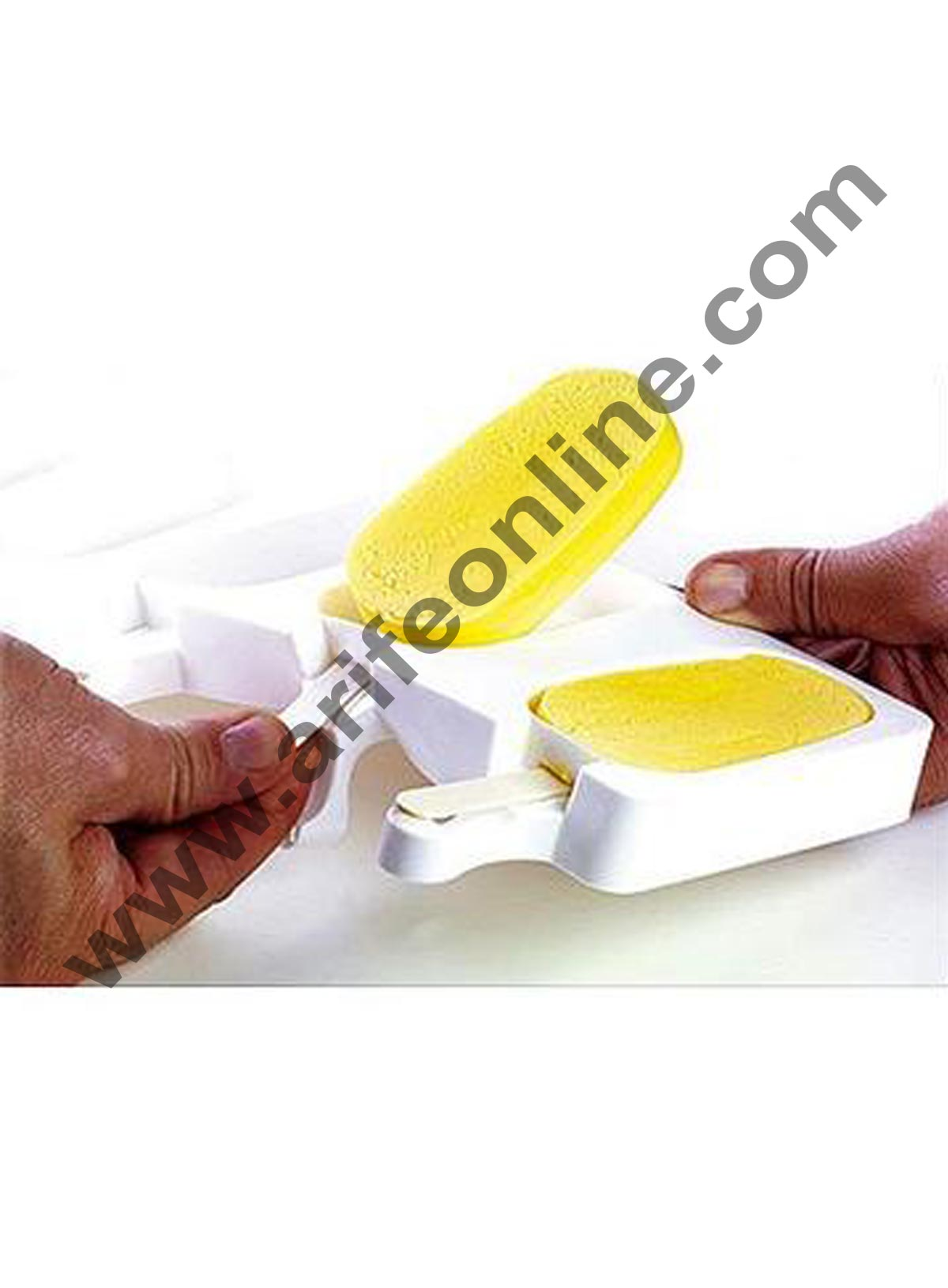 Cake Decor White Classic Silicone Cakesicle Mould Popsicle Easy Ice Cream Bar Mould