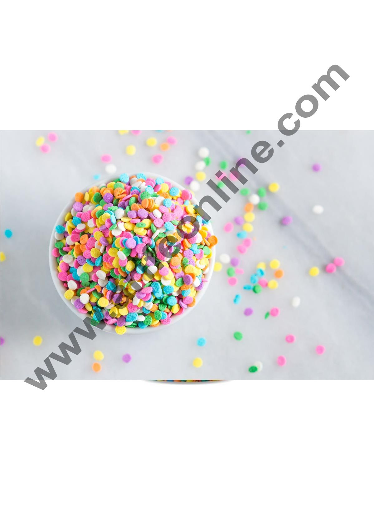 Wow Confetti™ Confeito Figura Mini Disc, 500gm