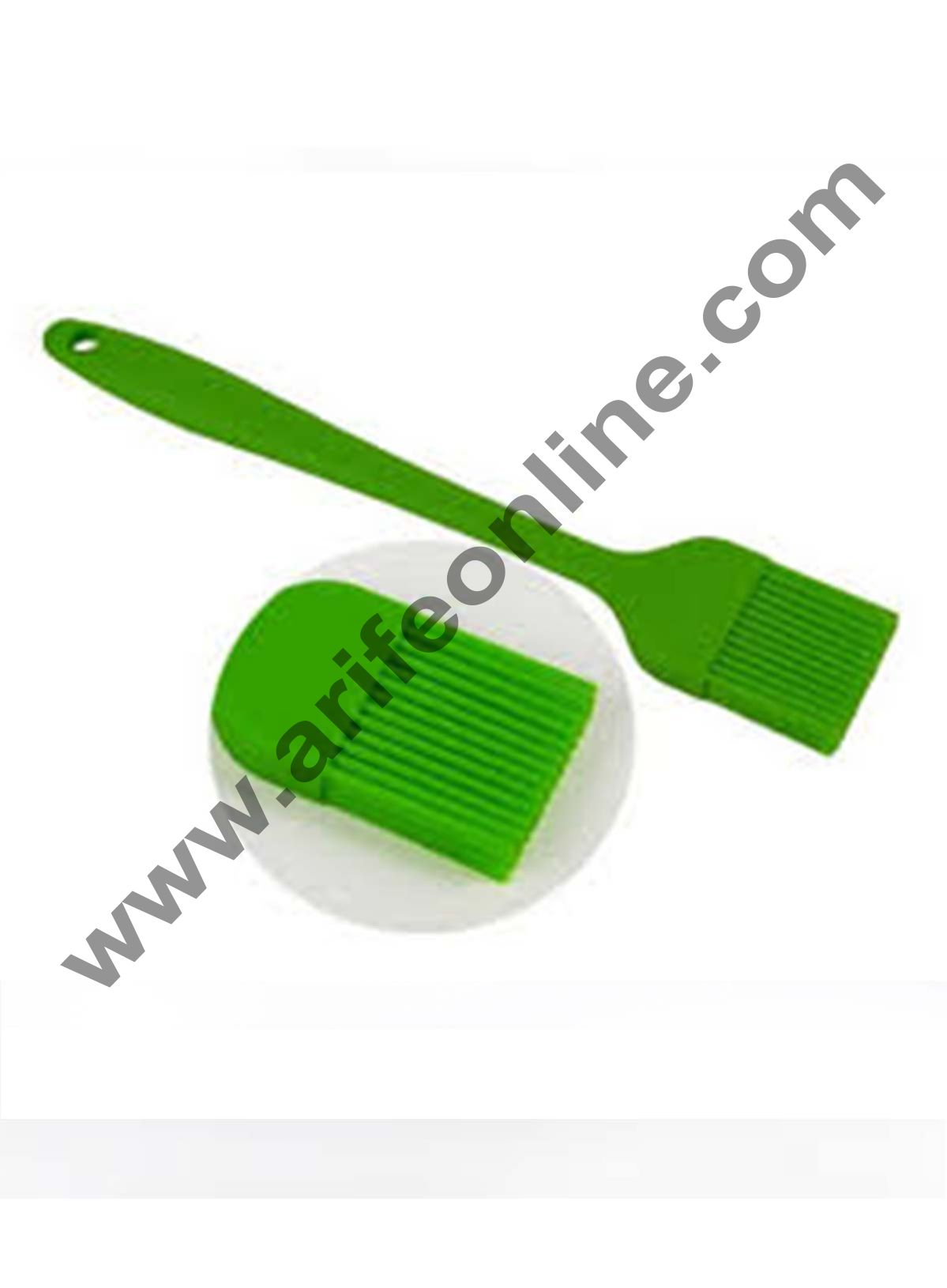 Cake Decor 1Pcs Silicone Medium Brush