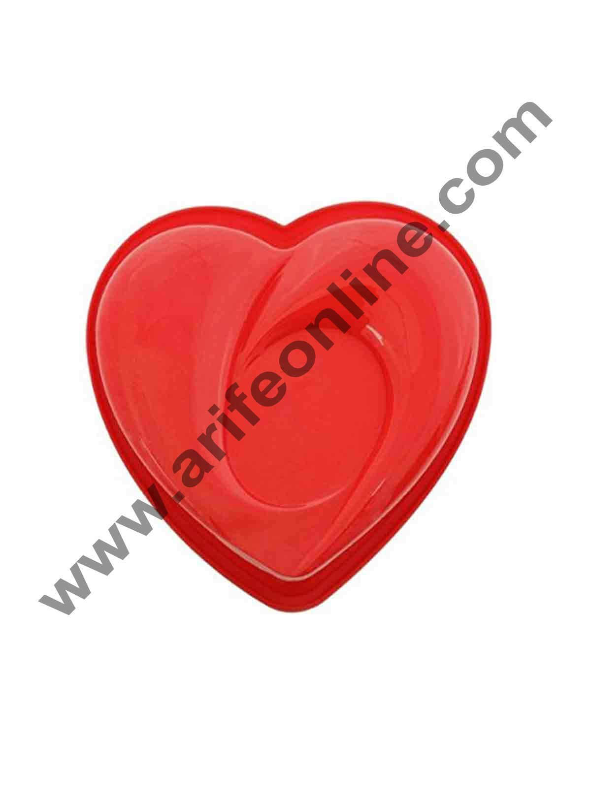 Cake Decor Silicon Heart Shape Cake Mould Mousse Cake Mould Silicon Moulds
