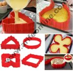 Cake Decor 4 Pcs Magic Bake Snake Silicone Nonstick Baking Snake Molds Diy Cakes In Any Shape 1