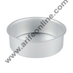 Cake Decor Round Aluminum Cake Mould Thali 7in x 2in