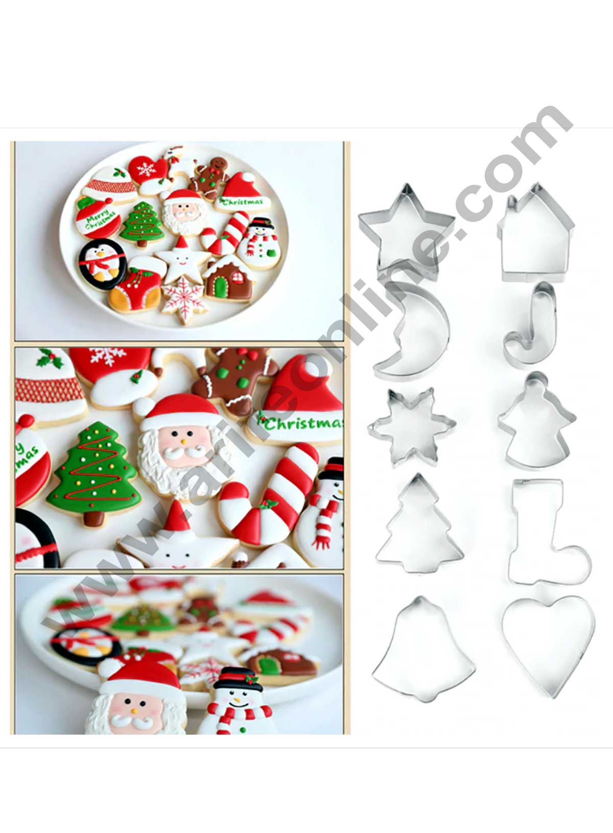 10 Pcs Christmas Cutter