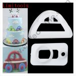 Cake Decor 2 Pc Cute Car Plastic Fondant Cutter Gumpaste Cutter