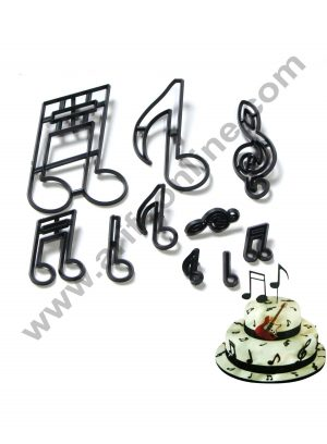 10PCS-SET-Music-Notes-Cookie-Cutter-Plastic-Sugarcraft-Fondant-Cutter-Mold-Cake-Decorating-Tools
