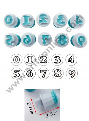 26pcs-Push-Easy-Mini-Number-Cookie-Cutter-Cake-pops-Baking-Mold-fondant-cutter