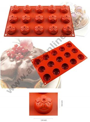15 cavity flower mould SBSM-356