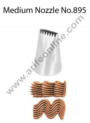 Cake Decor Medium Nozzle - No. 895 Basketweave Piping Nozzle