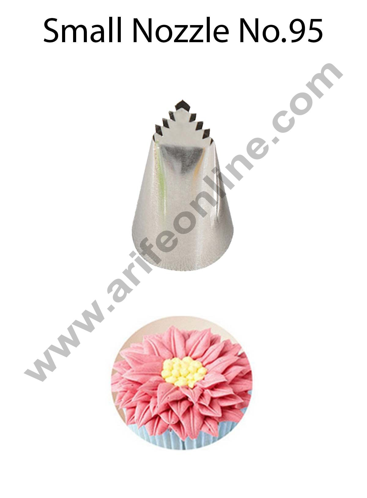 Cake Decor Small Nozzle - No. 95 Specialty Piping Nozzle