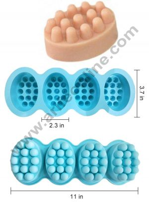 Massage Bar soap moulds size