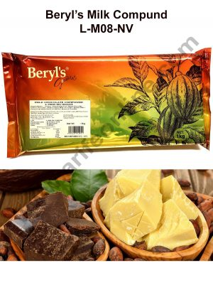 Beryls Milk chocolate compound